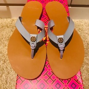 NIB Tory Burch Manon Thong Sandals Sz 6.5